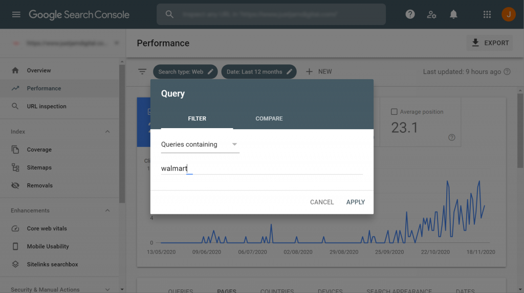 How to filter for branded clicks in Google Search Console